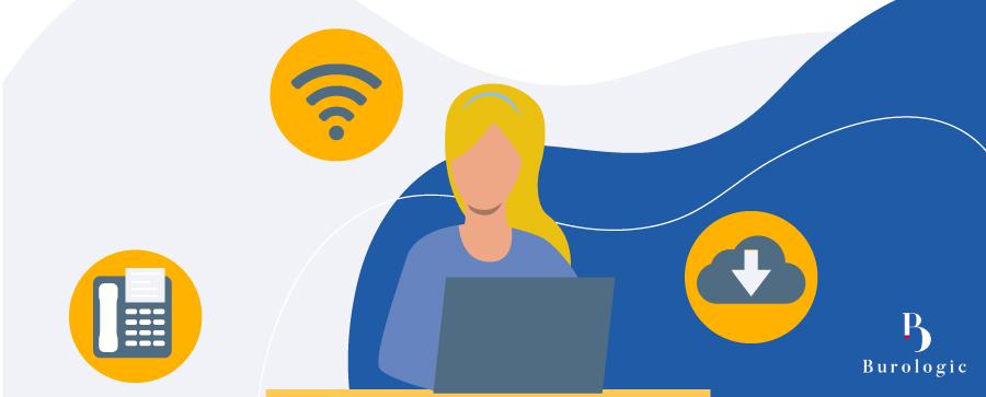 La téléphonie fixe et mobile, l'internet et l'hébergement