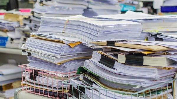Numérisation des archives papier