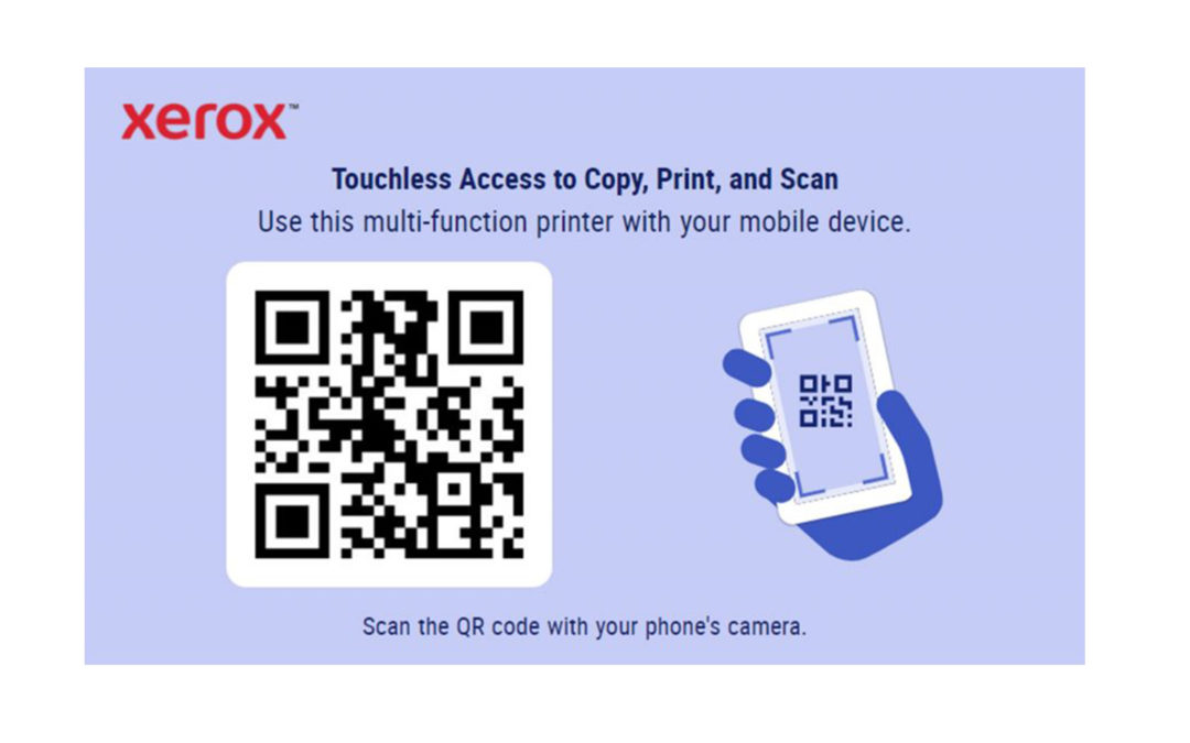 Application Touchless Access Xerox