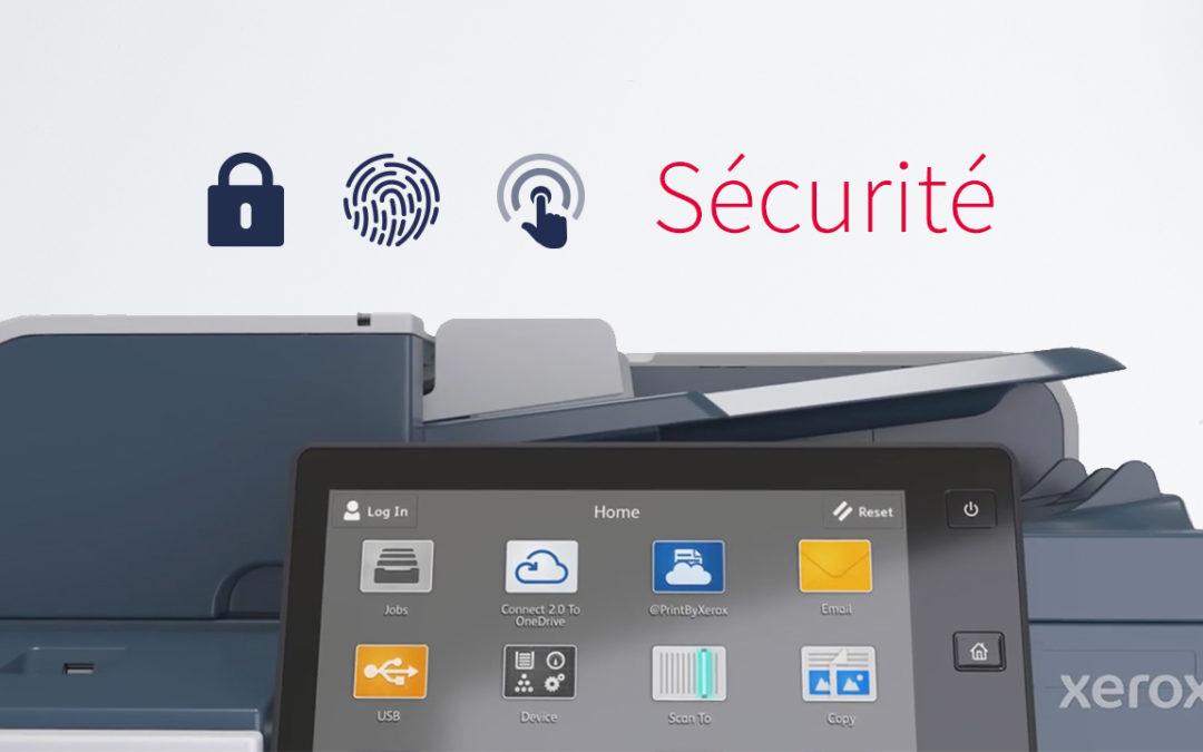 Sécurité des imprimantes Xerox